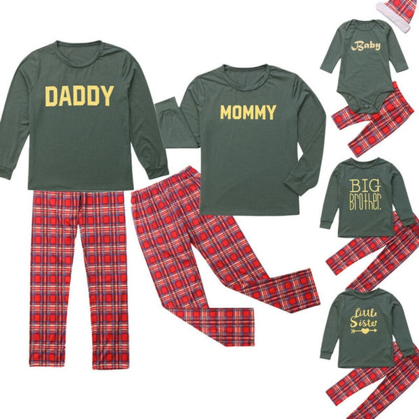 Christmas Family Matching Pajamas Clothing Set ...