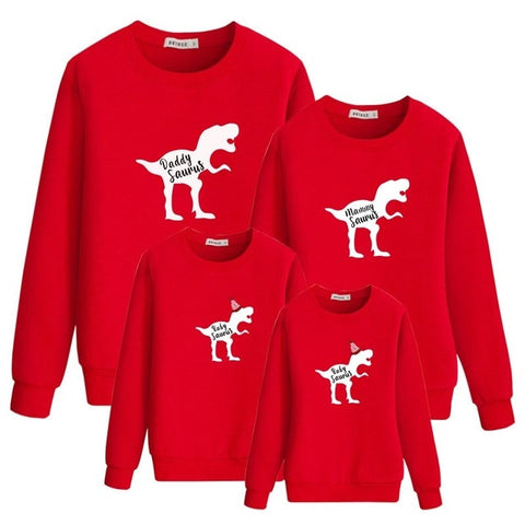 Mom&Me Girls Women Christmas Deer Long Sleeve Dress Family Outfits Clothes XMAS
