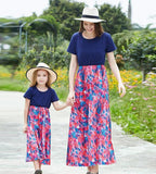Spring Floral Matching Dress - dresslikemommy.com