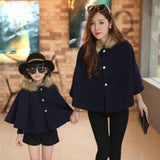 Winter Velvet Matching Coat-Coats-dresslikemommy.com