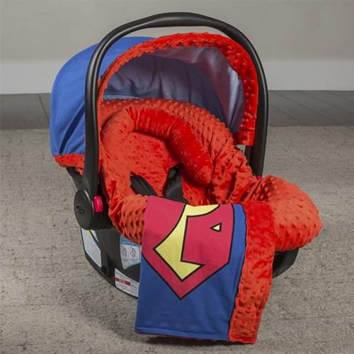 Superman Superhero Whole Caboodle Canopy by Couture - www.mylittlebabybug.com