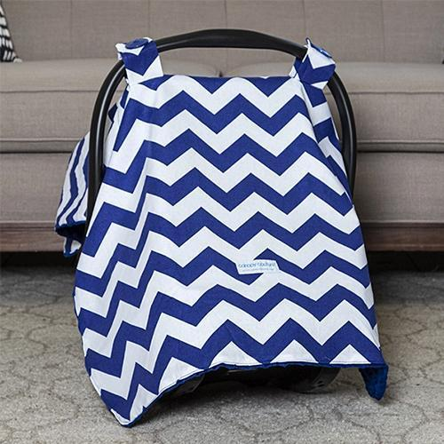 Jagger Original Minky Car Seat Canopy Canopy by Couture - My Little Baby Bug