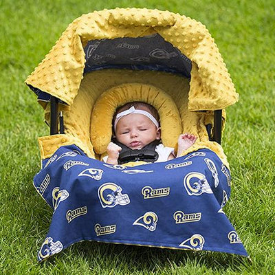 St. Louis Rams NFL Licensed Whole Caboodle by Canopy Couture | www.mylittlebabybug.com