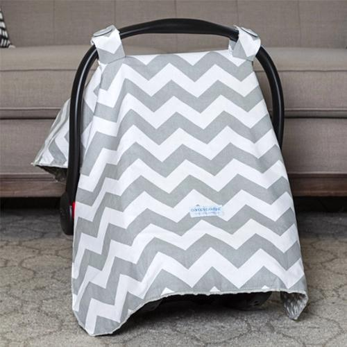 Chevy Original Minky Car Seat Canopy Canopy by Couture | www.mylittlebabybug.com