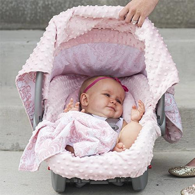Angelina Car Seat Cover Whole Caboodle by Canopy Couture | www.mylittlebabybug.com