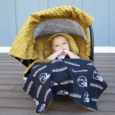 Baltimore by NFL Licensed Whole Caboodle by Canopy Couture | www.mylittlebabybug.com