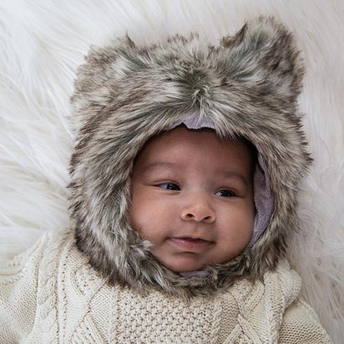 Shepherd Faux Fur Hat for Kids & Adults by Eskimo Kids - My Little Baby Bug