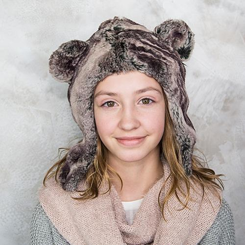 Koala Bear Faux Fur Hat for Kids & Adults by Eskimo Kids | www.mylittlebabybug.com