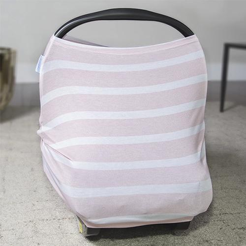 Pink Stripes Multi Use Stretch Cover by Canopy Couture - My Little Baby Bug