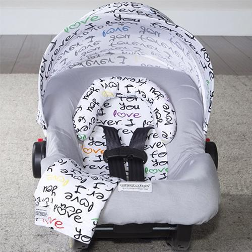 Harley Car Seat Whole Caboodle by Canopy Couture - www.mylittlebabybug.com
