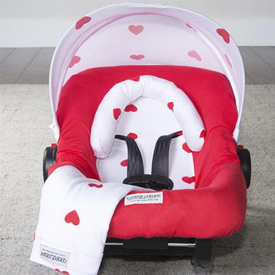Ruby Car Seat Cover Whole Caboodle by Canopy Couture | www.mylittlebabybug.com