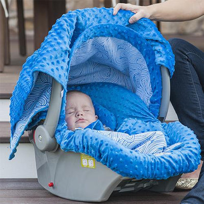 Noa Car Seat Cover Whole Caboodle by Canopy Couture - www.mylittlebabybug.com