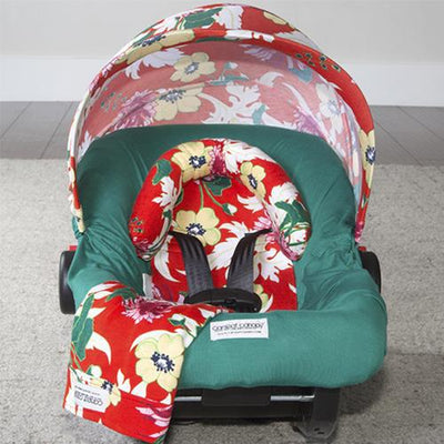 Avery Car Seat Cover Whole Caboodle by Canopy Couture | www.mylittlebabybug.com