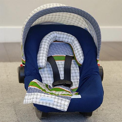 Lawrence Car Seat Cover Whole Caboodle by Canopy Couture | www.mylittlebabybug.com