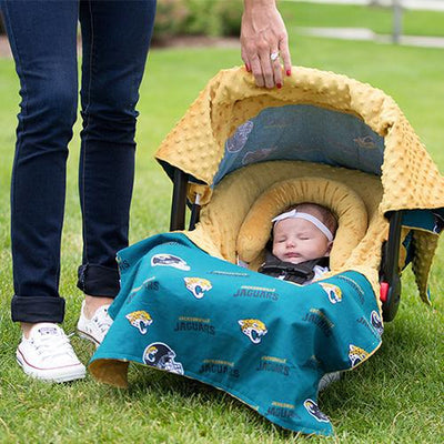 Jacksonville by NFL Licensed Whole Caboodle by Canopy Couture | www.mylittlebabybug.com