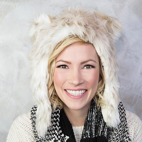 Snow Leopard Faux Fur Hat for Kids & Adults by Eskimo Kids | www.mylittlebabybug.com