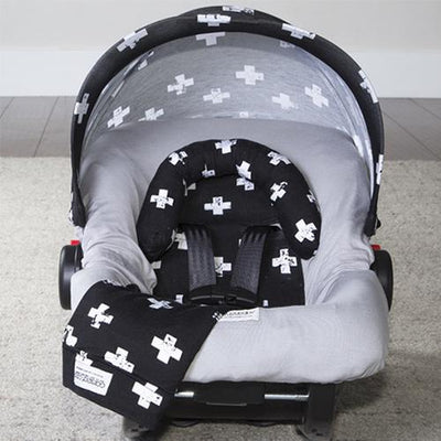 Ethan Car Seat Cover Whole Caboodle by Canopy Couture | www.mylittlebabybug.com