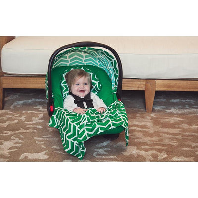 Ezra Car Seat Whole Caboodle by Canopy Couture | www.mylittlebabybug.com