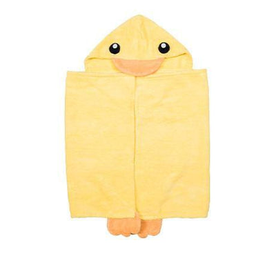 Duckie Hooded Towel - Infant to Adult Sizes-www.mylittlebabybug.com