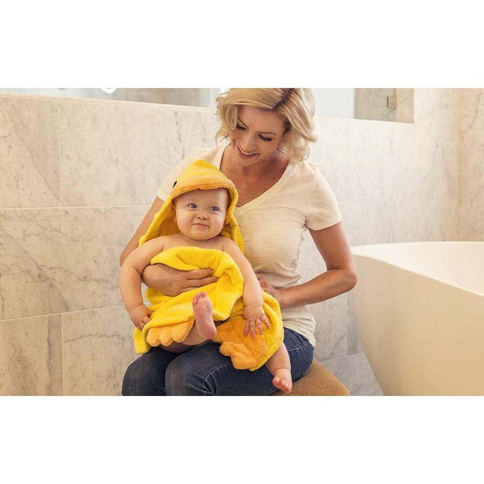 Duckie Hooded Towel - My Little Baby Bug