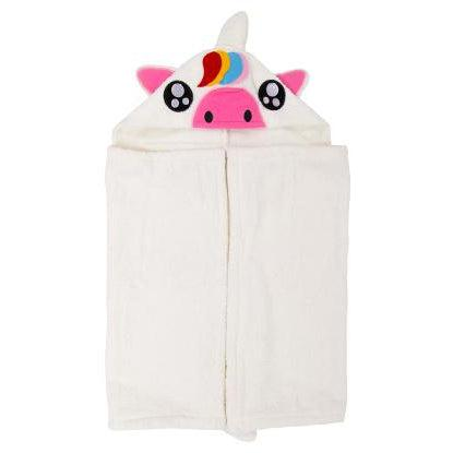 Fluffy Unicorn Hooded Towel - Infant to Adult Sizes-www.mylittlebabybug.com