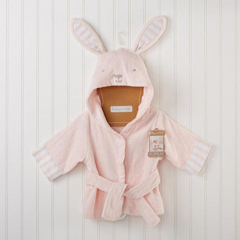 Girl's Bunny Hooded Spa Robe - www.mylittlebabybug.com
