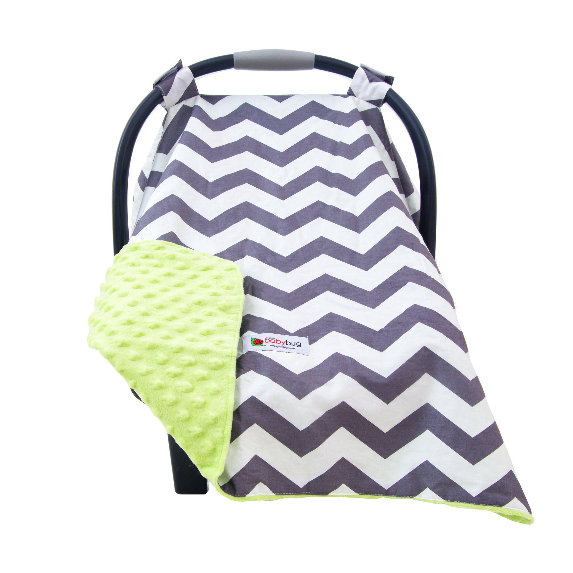 Andrew Car Seat Canopy Cover by My Little Baby Bug | www.mylittlebabybug.com