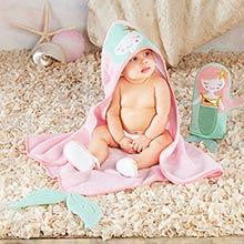 Mermaid 4-Piece Bath Time Gift Set - www.mylittlebabybug.com