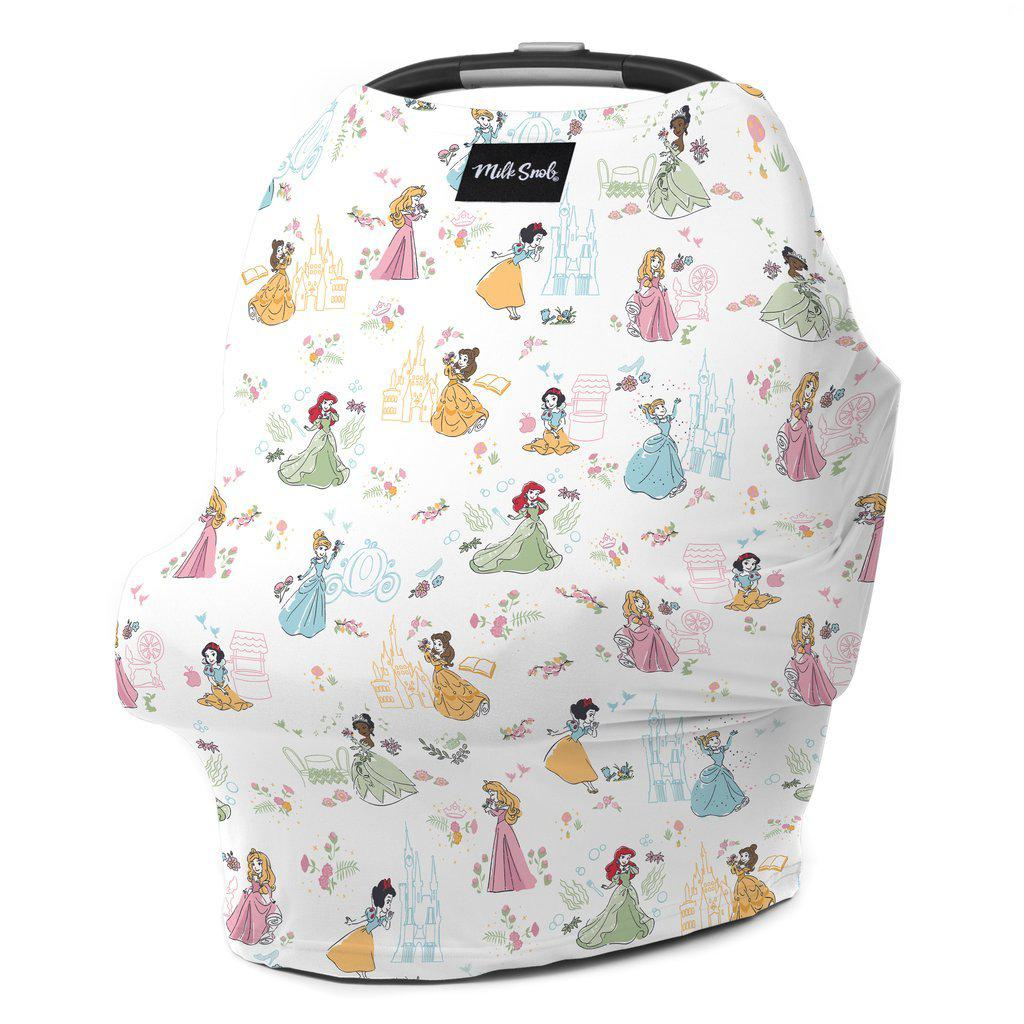 Disney Princess Multi-Use Cover by Milk Snob | www.mylittlebabybug.com