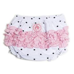 Tickled Pink Diaper Cover for Girls by Ruffle Buns | www.mylittlebabybug.com