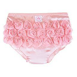 Peony Diaper Cover for Girls by Ruffle Buns | www.mylittlebabybug.com