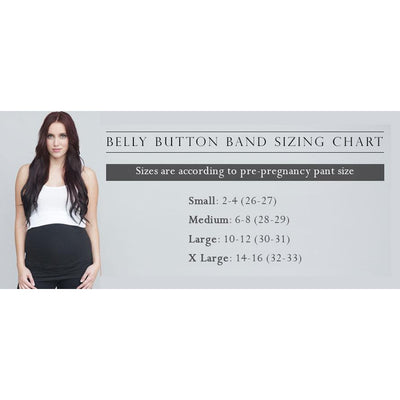 Light Gray Maternity Band by Belly Button - www.mylittlebabybug.com