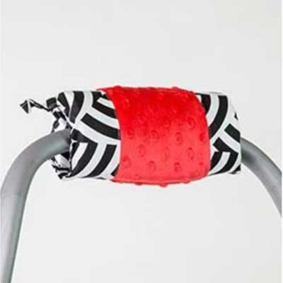 Solomon Handle Cushion for Car Seats by Canopy Couture | www.mylittlebabybug.com