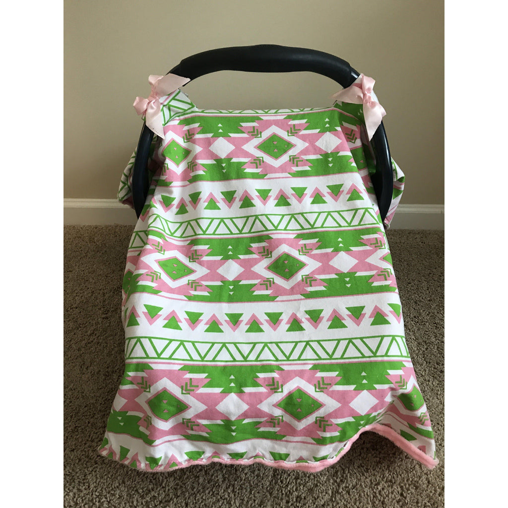 ... Charlotte Car Seat Canopy Cover-Infant Car Seat Canopy-My Little Baby Bug- ...  sc 1 st  My Little Baby Bug & Car Seat Canopy Cover Charlotte Pattern - Multi-functional