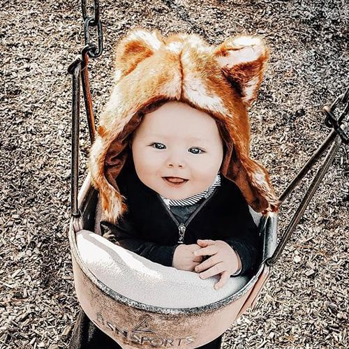 Red Fox Faux Fur Hat for Kids & Adults by Eskimo Kids - My Little Baby Bug