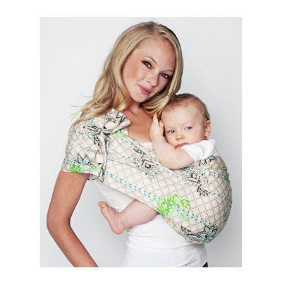 Graham Cracker Adjustable Pouch Baby Sling Carrier by Hotslings | www.mylittlebabybug.com