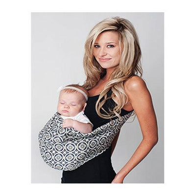 Moonlit Sky Adjustable Pouch Baby Sling Carrier by Hotslings | www.mylittlebabybug.com