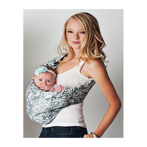 Overcast Adjustable Pouch Baby Sling Carrier by Hotslings | www.mylittlebabybug.com