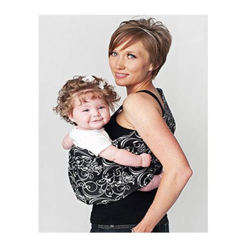 Silhouette Adjustable Pouch Baby Sling Carrier by Hotslings | www.mylittlebabybug.com