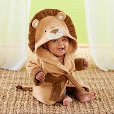 Lion Hooded Spa Robe-www.mylittlebabybug.com