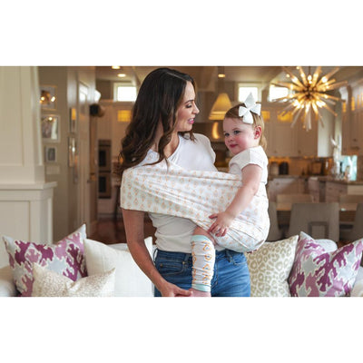 Rae Everyday Baby Sling Pouch Carrier by Seven Baby | www.mylittlebabybug.com