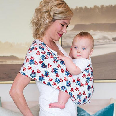 Captain Everyday Baby Sling Pouch Carrier by Seven Baby | www.mylittlebabybug.com