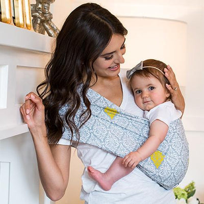 Cyrus Everyday Baby Sling Pouch Carrier by Seven Baby | www.mylittlebabybug.com