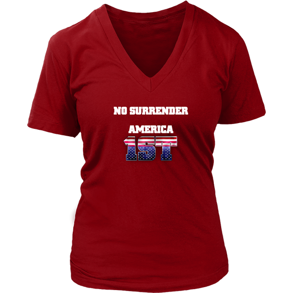 No Surrender V-Neck
