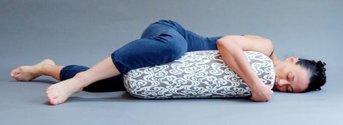 Yoga Bolster- Smoke