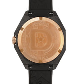 The VICE III // 39mm<br> Black Case + Gold Bezel