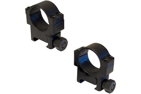 Tactical 1 inch Rings HD Black