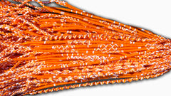 Round Custom Bracelets - (O) - Orange, White