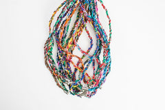10. Braided Necklaces with Magnetic Clasp