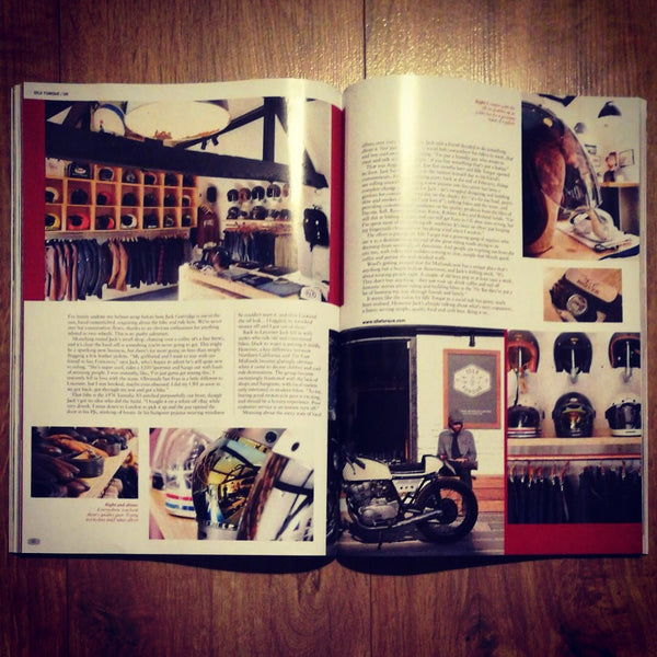 Four page spread in edition 6 of Built Mag!